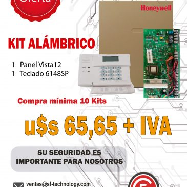 KIT ALÁMBRICO HONEYWELL