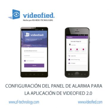 Configuración del Panel de Alarma Para la Aplicación de VIDEOFIED 2.0