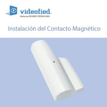 Manual de instalación del contacto magnético IDC 200/601/701