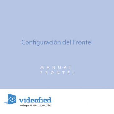 Configuración del Frontel