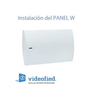 Manual de instalación del panel W