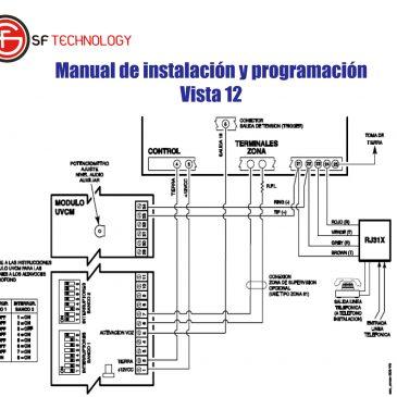 Manual de instalación y programación Vista 12