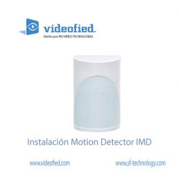 Instalación Motion Detector IMD 200/601/702